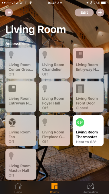 Voice Enabled Control4 Smart Home Siri Jw Automations